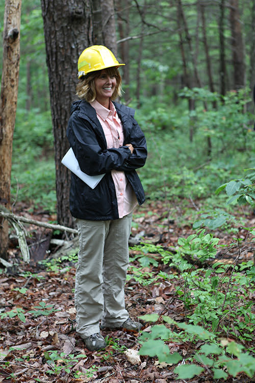 Callie participated as a speaker for the National Advance Silviculture Program.  This program trains and certifies U.S. government silviculturists using the latest research on forest management issues.